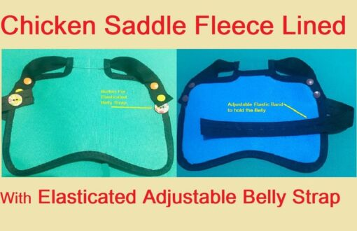 Chicken Hen Saddles Fleece Lined Waterproof Adjustable Straps Wings Tail Guard Protector Henchen POULET Small Medium Large Cockerel Breeding